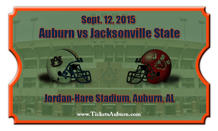 Auburn tigers vs jacksonville state gamecocks football tickets sept
